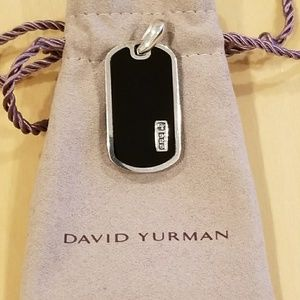 Authentic David Yurman Mens Pendant
